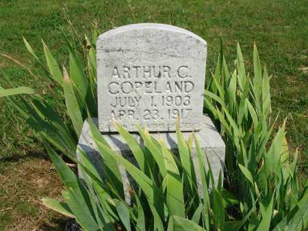 COPELAND, ARTHUR C - Adams County, Ohio   ARTHUR C COPELAND - Ohio Gravestone Photos