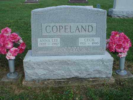 COPELAND, CECIL - Adams County, Ohio | CECIL COPELAND - Ohio Gravestone Photos