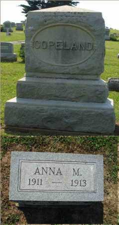 COPELAND, ANNA M. - Adams County, Ohio | ANNA M. COPELAND - Ohio Gravestone Photos