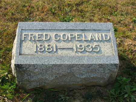 COPELAND, ALBERT FRED - Adams County, Ohio   ALBERT FRED COPELAND - Ohio Gravestone Photos