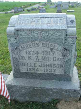 JOHNSON COPELAND, BELLE - Adams County, Ohio | BELLE JOHNSON COPELAND - Ohio Gravestone Photos