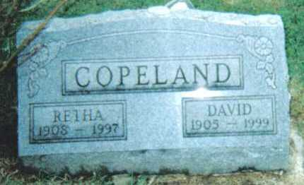COPELAND, RETHA - Adams County, Ohio | RETHA COPELAND - Ohio Gravestone Photos