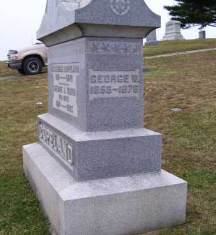 COPELAND, GEORGE W. - Adams County, Ohio | GEORGE W. COPELAND - Ohio Gravestone Photos