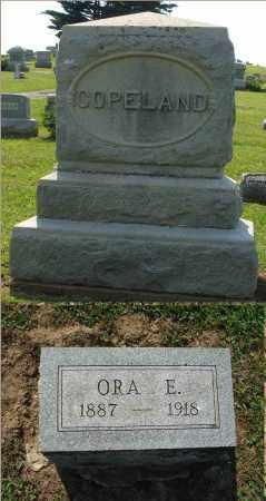 COPELAND, ORA E. - Adams County, Ohio   ORA E. COPELAND - Ohio Gravestone Photos