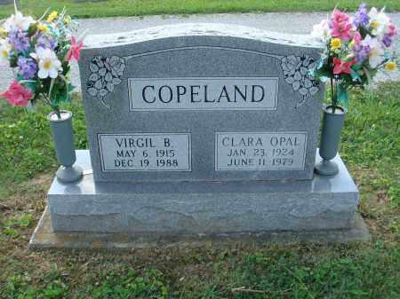 COPELAND, CLARA OPAL - Adams County, Ohio | CLARA OPAL COPELAND - Ohio Gravestone Photos