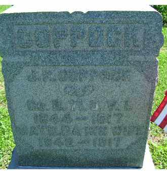 COPPOCK, MATILDA - Adams County, Ohio   MATILDA COPPOCK - Ohio Gravestone Photos