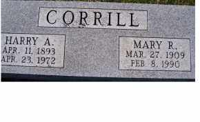 CORRILL, HARRY A. - Adams County, Ohio | HARRY A. CORRILL - Ohio Gravestone Photos