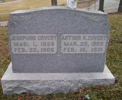COVERT, ARTHUR N. - Adams County, Ohio | ARTHUR N. COVERT - Ohio Gravestone Photos