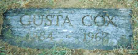 COX, GUSTA - Adams County, Ohio | GUSTA COX - Ohio Gravestone Photos
