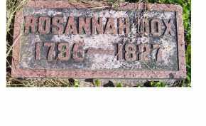 COX, ROSANNAH - Adams County, Ohio | ROSANNAH COX - Ohio Gravestone Photos