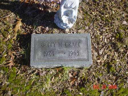 CRAFT, BETTY M. - Adams County, Ohio   BETTY M. CRAFT - Ohio Gravestone Photos