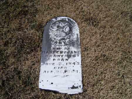 CRAWFORD, MARY J. - Adams County, Ohio | MARY J. CRAWFORD - Ohio Gravestone Photos