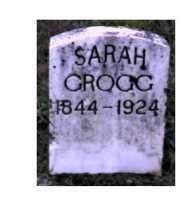 GROGG, SARAH - Adams County, Ohio | SARAH GROGG - Ohio Gravestone Photos
