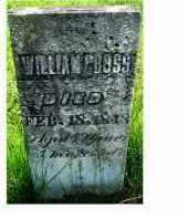 CROSS, WILLIAM - Adams County, Ohio | WILLIAM CROSS - Ohio Gravestone Photos