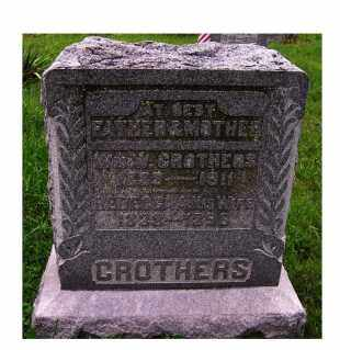 CROTHERS, REBECCA A. - Adams County, Ohio | REBECCA A. CROTHERS - Ohio Gravestone Photos