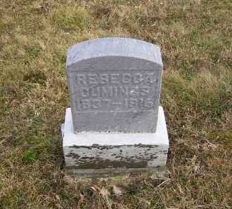 CUMINGS, REBECCA - Adams County, Ohio | REBECCA CUMINGS - Ohio Gravestone Photos