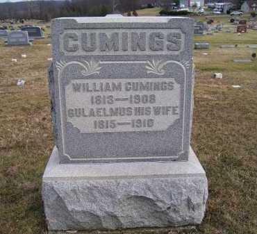 CUMINGS, GULAELMUS - Adams County, Ohio | GULAELMUS CUMINGS - Ohio Gravestone Photos