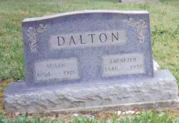 DALTON, EBENEZER - Adams County, Ohio | EBENEZER DALTON - Ohio Gravestone Photos