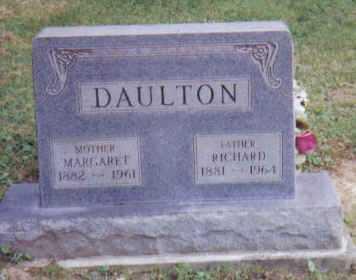 DAULTON, MARGARET - Adams County, Ohio | MARGARET DAULTON - Ohio Gravestone Photos