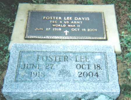DAVIS, FOSTER LEE - Adams County, Ohio | FOSTER LEE DAVIS - Ohio Gravestone Photos