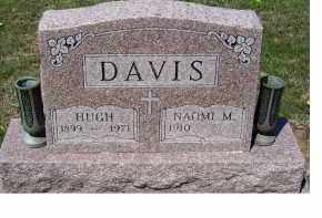 DAVIS, HUGH - Adams County, Ohio | HUGH DAVIS - Ohio Gravestone Photos