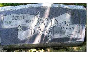 DAVIS, LYMAN - Adams County, Ohio   LYMAN DAVIS - Ohio Gravestone Photos