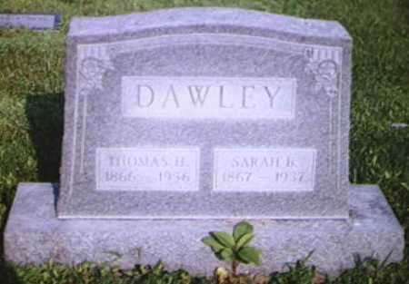 DAWLEY, THOMAS H - Adams County, Ohio | THOMAS H DAWLEY - Ohio Gravestone Photos
