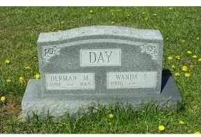 DAY, HERMAN M. - Adams County, Ohio | HERMAN M. DAY - Ohio Gravestone Photos