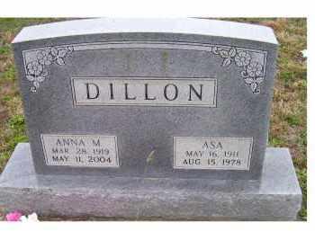 DILLON, ASA - Adams County, Ohio | ASA DILLON - Ohio Gravestone Photos