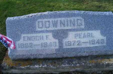 DOWNING, ENOCH F. - Adams County, Ohio | ENOCH F. DOWNING - Ohio Gravestone Photos