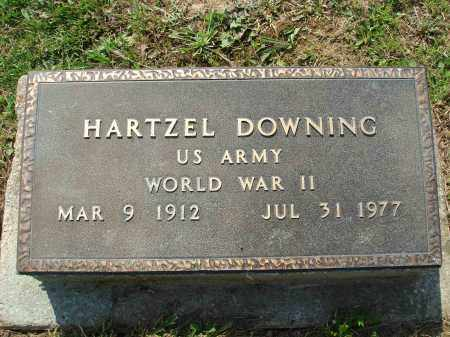 DOWNING, HARTZEL - Adams County, Ohio   HARTZEL DOWNING - Ohio Gravestone Photos