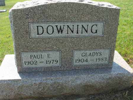 DOWNING, GLADYS - Adams County, Ohio | GLADYS DOWNING - Ohio Gravestone Photos