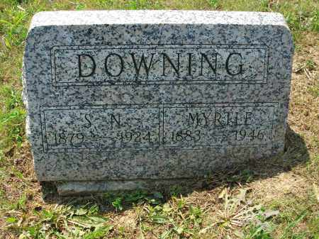 DOWNING, S.N. - Adams County, Ohio | S.N. DOWNING - Ohio Gravestone Photos