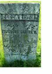 DUFFEY, ELIZABETH - Adams County, Ohio | ELIZABETH DUFFEY - Ohio Gravestone Photos
