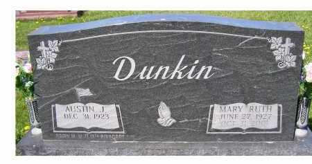DUNKIN, MARY RUTH - Adams County, Ohio   MARY RUTH DUNKIN - Ohio Gravestone Photos