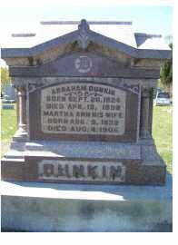 DUNKIN, MARTHA ANN - Adams County, Ohio | MARTHA ANN DUNKIN - Ohio Gravestone Photos