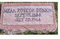 DUNKIN, MEAK ROSCOE - Adams County, Ohio | MEAK ROSCOE DUNKIN - Ohio Gravestone Photos