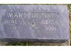 DUNKIN, MARY - Adams County, Ohio   MARY DUNKIN - Ohio Gravestone Photos