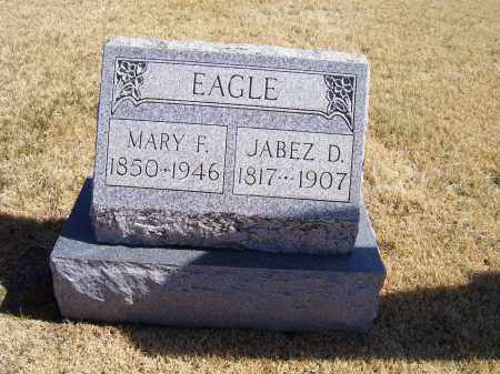 EAGLE, MARY F. - Adams County, Ohio | MARY F. EAGLE - Ohio Gravestone Photos