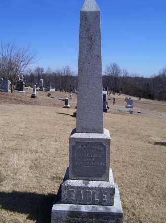 EAGLE, JOHN - Adams County, Ohio   JOHN EAGLE - Ohio Gravestone Photos