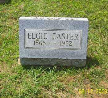 EASTER, ELGIE - Adams County, Ohio   ELGIE EASTER - Ohio Gravestone Photos