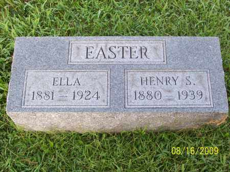 EASTER, HENRY S - Adams County, Ohio | HENRY S EASTER - Ohio Gravestone Photos