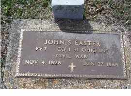 EASTER, JOHN S. - Adams County, Ohio | JOHN S. EASTER - Ohio Gravestone Photos