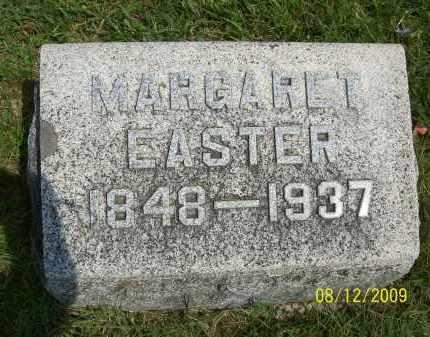 EASTER, MARGARET - Adams County, Ohio   MARGARET EASTER - Ohio Gravestone Photos
