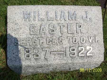 EASTER, WILLIAM J - Adams County, Ohio | WILLIAM J EASTER - Ohio Gravestone Photos