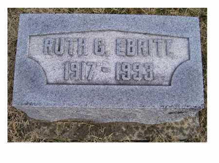 EBRITE, RUTH G. - Adams County, Ohio   RUTH G. EBRITE - Ohio Gravestone Photos