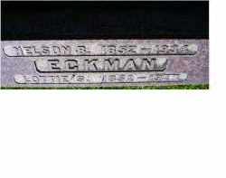 ECKMAN, LOTTIE S. - Adams County, Ohio | LOTTIE S. ECKMAN - Ohio Gravestone Photos