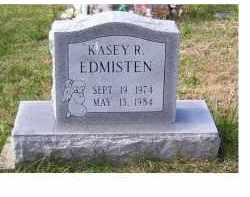 EDMISTEN, KASEY R. - Adams County, Ohio   KASEY R. EDMISTEN - Ohio Gravestone Photos