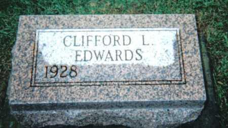 EDWARDS, CLIFFORD L. - Adams County, Ohio   CLIFFORD L. EDWARDS - Ohio Gravestone Photos