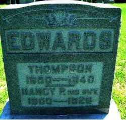 EDWARDS, THOMPSON - Adams County, Ohio | THOMPSON EDWARDS - Ohio Gravestone Photos